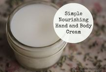 Homemade Hand Lotions & Creams / Handmade lotion and creams
