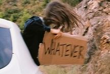 - Whatever / whatever you see, whatever you feel