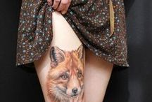 foxes tattoo