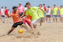 Sports Groups at the Beach / Check out all of these awesome sports that are played right here on beautiful Virginia Beach! BOOK YOUR GROUP ROOM BLOCK: http://www.hamptoninnvirginiabeachoceanfront.com/ / by Hampton by Hilton Virginia Beach Oceanfront North