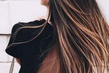 // f a s h i o n + b e a u t y // / clothes // makeup // hair