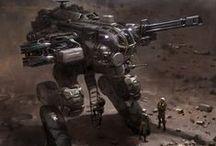 Cyborgs e armi