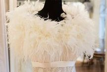 Bridal Accessories at MODE Bridal / Feather boleros & bridal shrugs at MODE Bridal