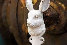 rabbit オブジェ