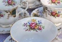teacup花柄