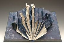 Book Art-Sculptural / Artist's books that are primarily sculptures. My favorite kind to make and see.