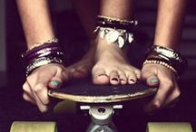 .:Skateboarding:. / by *RosaFinchen*