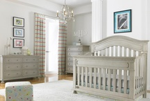 Baby Nursery-Modern and Cute / An updated, modern look for your nursery, the Dolce Babi Naples Collection makes a statement in the Grey Satin Finish or if you prefer a more traditional feel,  it also comes in a Cherry Finish