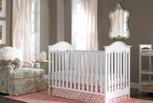 Beautiful Nursery Rooms on a Budget / A Goregeous Nursery doesn't have to break the bank. Simple, sweet furniture and accessories make a beautiful room!