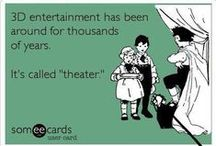 Only in the Theatre! / Theatre memes for theatre people.
