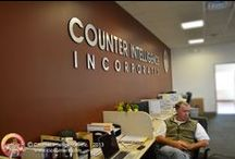 Team / The Counter Intelligence team in action