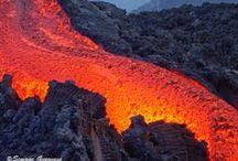 Etna eruptive activity before 2013