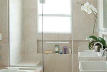 BATHroom ideas / Bathroom ideas for sloped ceiling.