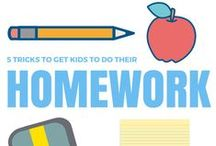 School's Back in Session / Make #back2school stress-free with these helpful parenting tips, lunch and snack ideas, and organizing how-to's from ULIVE, Food Network, HGTV and more!