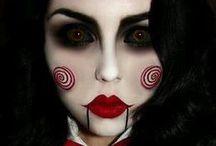 Halovīni / Halloween Make-Up & Styling Inspiration