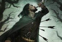 /fantasy and medieval fan arts