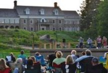Thursdays at the Felt / Free Summer Concert Series held in the Carriage House lawn