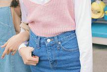 Комплекты с джинсовой юбкой