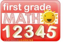 First Grade Math / A place to share great resources for first grade math.