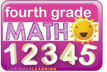 Fourth Grade Math / A place to share great ideas for teaching fourth grade math.