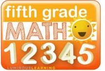 Fifth Grade Math / A place to share great ideas for teaching fifth grade math.