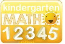 Kindergarten Math / A place to share great resources for kindergarten math.
