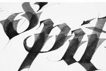 typography / by skylar . . .