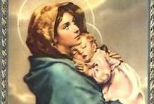 Moeder Maria/ Holy Mary / by Gipsy mom