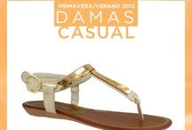 Zapatos Casuales para Damas / Increíbles modelos de temporada Primavera- Verano 2013