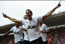 Robin Van Persie / The legendary number 20 who helped Man Utd to become Champ20ns! RVP!