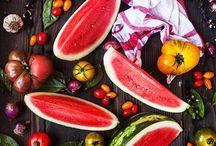 Natural / Fruit and vegetables naturally shot