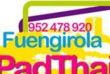 PadthaiWok Fuengirola. Take Away - Servicio a Domicilio / Tel: (+34) 952 478 920. C/ Jacinto Benavente, 9. Fuengirola. CP 29640