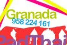 PadThaiWok Granada - Pza. Fortuny / Take Away y Servicio a Domicilio C/ Honda del Realejo, 24. (Pza. Fortuny) 18009 Granada Tel. (+34) 958 224 161 / M. 603 630 580.  Horario: lunes - domingo 12,00 a 0,00 h.