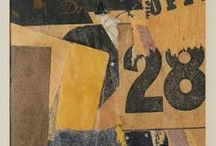 Kurt Schwitters / The master of collage.