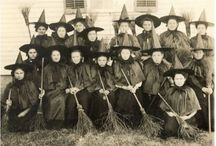 Broomstick Librarian :: Vintage Witchcrafterie / Witches.