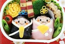 "Kawaii Bento 可愛い弁当 :) / Japanese make such cute Bentos for lunch boxes for their children to take to school. They are definitely more of a ""visual feast"" to me! : #bento #弁当"