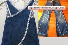 Jeans / Reaproveitamento de jeans