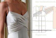 Patterns/Dresses / Leninkien kuositteluohjeita