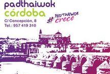 PadthaiWok Córdoba / C/ Concepción, 8. Tel. 957 412 310