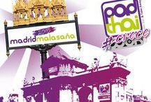 PadThaiWok Madrid - Malasaña / Thai Noodle Bar & Take Away en Madrid.  Calle Corredera Baja de San Pablo, 41 (Malasaña) 28004 Madrid. Tel: 912 98 51 24.