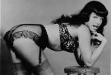 Glamour Girls-Bettie Page