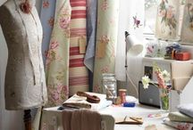 Craft/sewing room ideas ✏ / Ideas and inspiration for my hobby room  / by Karen Beeson