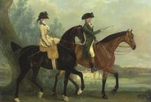 18thC Women on Horseback & Riding Habits / These are portraits and prints I have collected with Women on Horseback, with horse, or in a riding habit.  I may have strayed into the 19th Century as well.