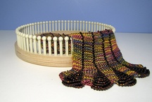 LOOM KNIT&WEAVE / LOOM KNITTING, HOW TO, DIY, KNIT, YARN,SCARVES,HATS / by Wendy Dudley