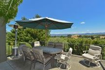 Napa Valley View Estate / Quintessential Napa Valley View Estate with Sprawling Single Level Main House, Pool/Guest House, 2.5 Acres of Pinot & Stunning Vineyard/Mt Views. Located in a Private Gated Setting on All City Services, Enjoy Great Room Style Living with a Large Family Room that Opens to a Spacious Kitchen with Center Island. French Doors Open to an Outdoor Entertaining Area with Spectacular Views! / by Heritage Sotheby's International Realty