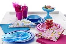 Mix & Match / Combine designs and colours to enhance the creativity to your table setting.