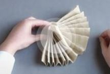 Napkin folding movies Duni / A folded napkin can set the tone for the meal to come. Se more on duni.com