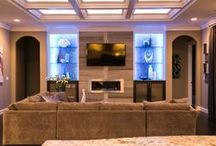 Entertainment Centers / A feature of every Prodigy Home is a custom buit-in entertainment center. Check out some of our designs!