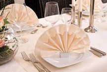 Celebration - Tablescapes / Whether you're celebrating a golden anniversary or a christening, the table settings and decorations play a big role in defining the mood of the party.