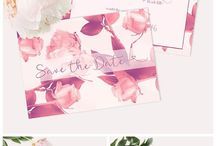 ADELE  WEDDING  STATIONERY / bespoke wedding invitations, rsvp cards, save the date cards, thank you cards